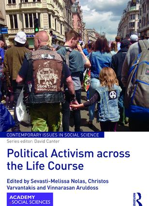 Political Activism across the Life Course (Hardback) book cover