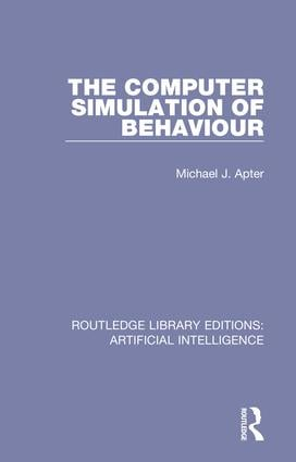 Routledge Library Editions: Artificial Intelligence: 1st Edition (Hardback) book cover
