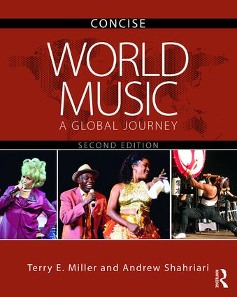 World Music CONCISE: A Global Journey, 2nd Edition (Audio CD) book cover