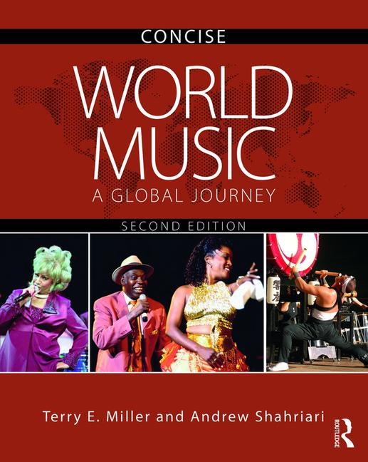 World Music CONCISE: A Global Journey, 2nd Edition (Pack - Book and CD) book cover