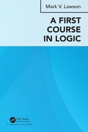 A First Course in Logic book cover