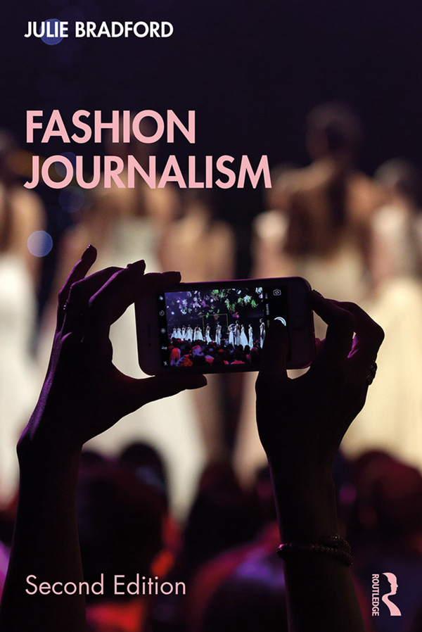 Fashion Journalism: 2nd Edition (e-Book) book cover