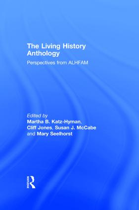The Living History Anthology: Perspectives from the ALHFAM book cover