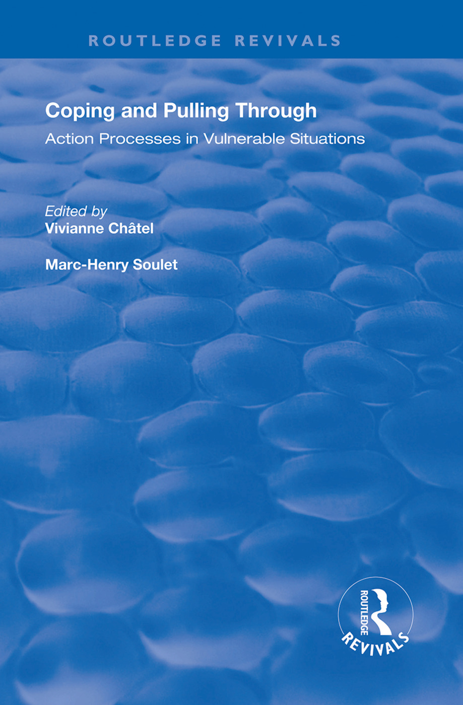 Coping and Pulling Through: Action Processes in Vulnerable Situations, 1st Edition (e-Book) book cover