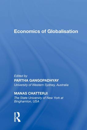 Economics of Globalisation: 1st Edition (Hardback) book cover