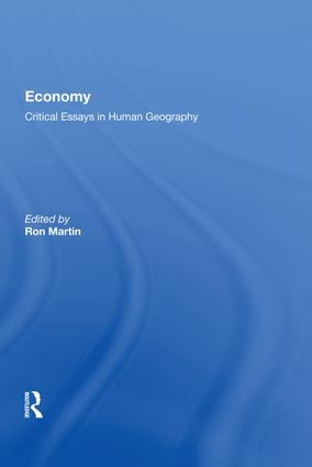 A perspective of economic geography