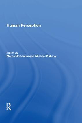 Human Perception: 1st Edition (Hardback) book cover