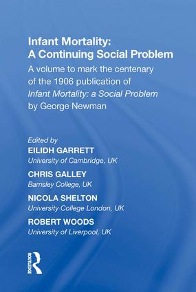 Infant Mortality: A Continuing Social Problem: 1st Edition (Hardback) book cover