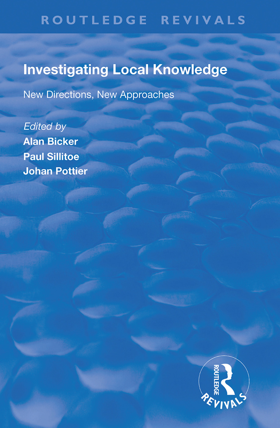 Investigating Local Knowledge: New Directions, New Approaches, 1st Edition (Hardback) book cover