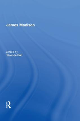 James Madison: 1st Edition (Hardback) book cover