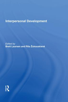 Interpersonal Development: 1st Edition (Hardback) book cover