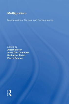 Multijuralism: Manifestations, Causes, and Consequences, 1st Edition (Hardback) book cover