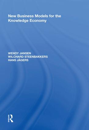 New Business Models for the Knowledge Economy: 1st Edition (Hardback) book cover