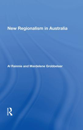 New Regionalism in Australia: 1st Edition (Hardback) book cover