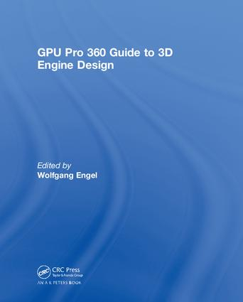 GPU Pro 360 Guide to 3D Engine Design book cover
