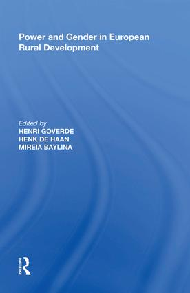 Power and Gender in European Rural Development: 1st Edition (Hardback) book cover