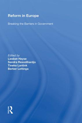 Reform in Europe: Breaking the Barriers in Government, 1st Edition (Hardback) book cover