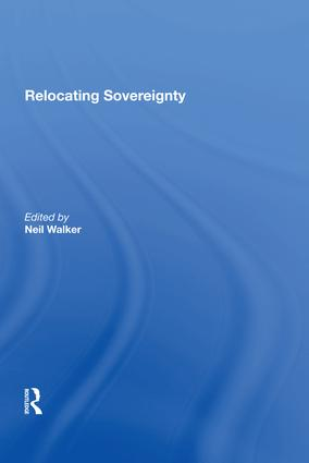 Relocating Sovereignty: 1st Edition (Hardback) book cover