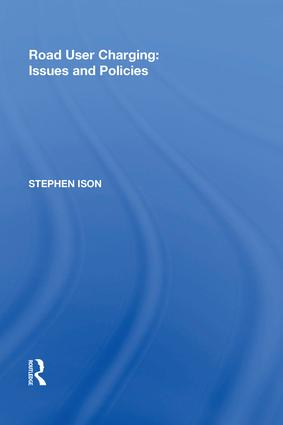Road User Charging: Issues and Policies: 1st Edition (Hardback) book cover