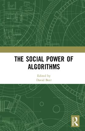 The Social Power of Algorithms book cover