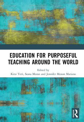 Education for Purposeful Teaching Around the World: 1st Edition (Paperback) book cover