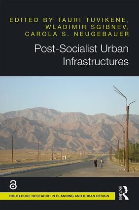 Post-Socialist Urban Infrastructures book cover