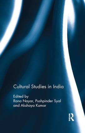 Cultural Studies in India book cover