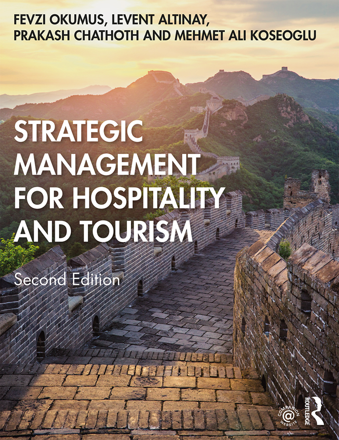 Strategic Management for Hospitality and Tourism book cover