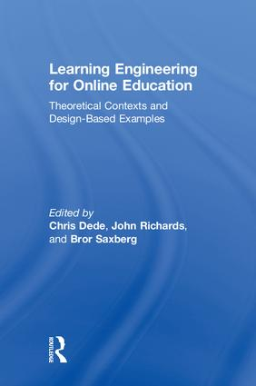 Learning Engineering for Online Education: Theoretical Contexts and Design-Based Examples book cover