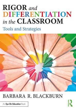 Rigor and Differentiation in the Classroom: Tools and Strategies (Paperback) book cover