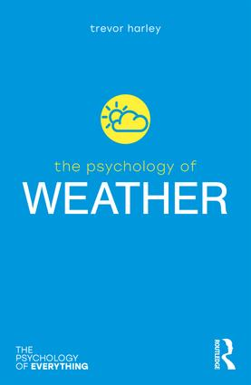 The Psychology of Weather book cover