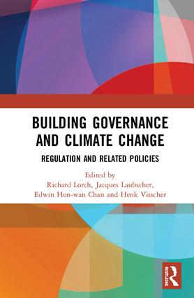 Building Governance and Climate Change: Regulation and Related Policies book cover