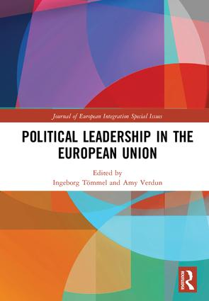 Political Leadership in the European Union: 1st Edition (e-Book) book cover