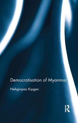 Democratisation of Myanmar book cover