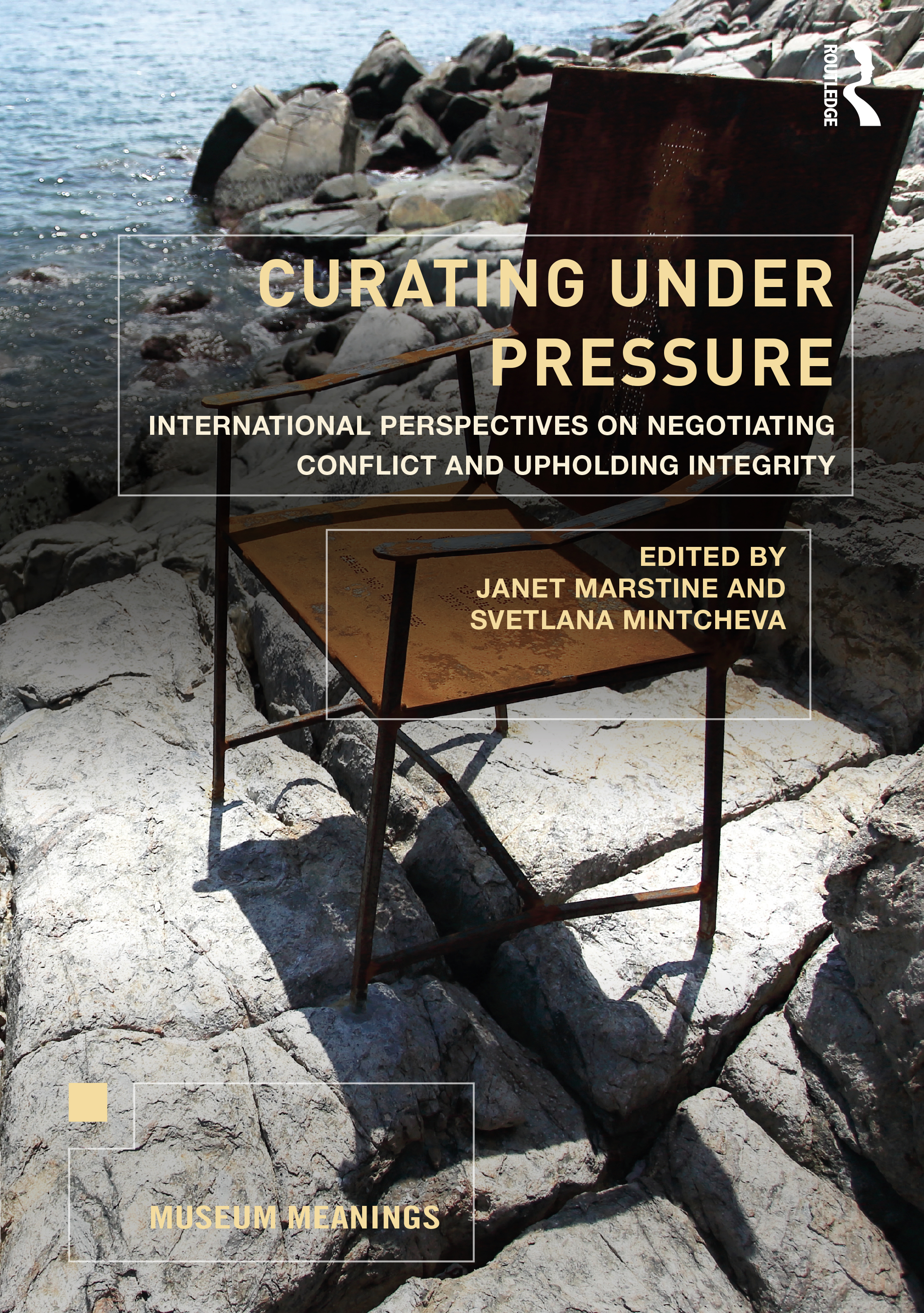 Curating Under Pressure: International Perspectives on Negotiating Conflict and Upholding Integrity book cover