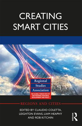 Creating Smart Cities book cover