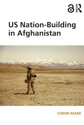 US Nation-Building in Afghanistan: 1st Edition (Paperback) book cover