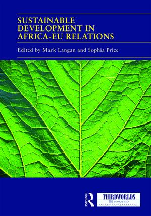 Sustainable Development in Africa-EU relations book cover