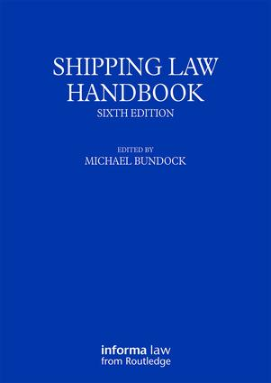 Shipping Law Handbook book cover