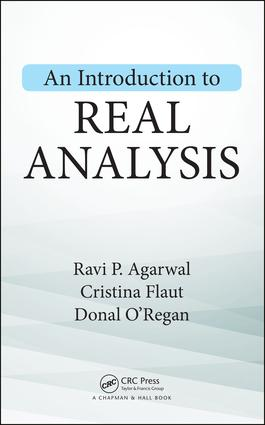 An Introduction to Real Analysis: 1st Edition (Hardback) book cover