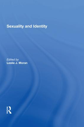 Sexuality and Identity: 1st Edition (Hardback) book cover