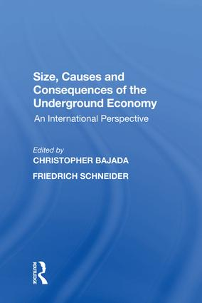 Size, Causes and Consequences of the Underground Economy: An International Perspective, 1st Edition (e-Book) book cover