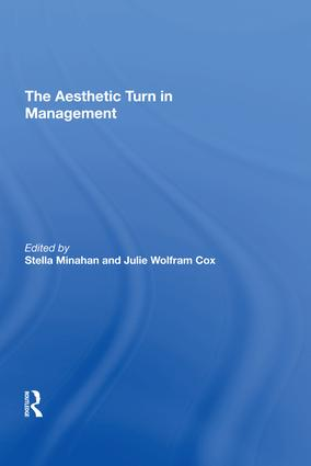 The Aesthetic Turn in Management: 1st Edition (Hardback) book cover