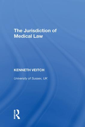 Medical Law in Context