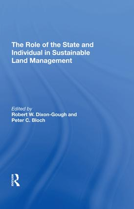 Land Management, Cadastral Reform and Biodiversity: A New Zealand Study