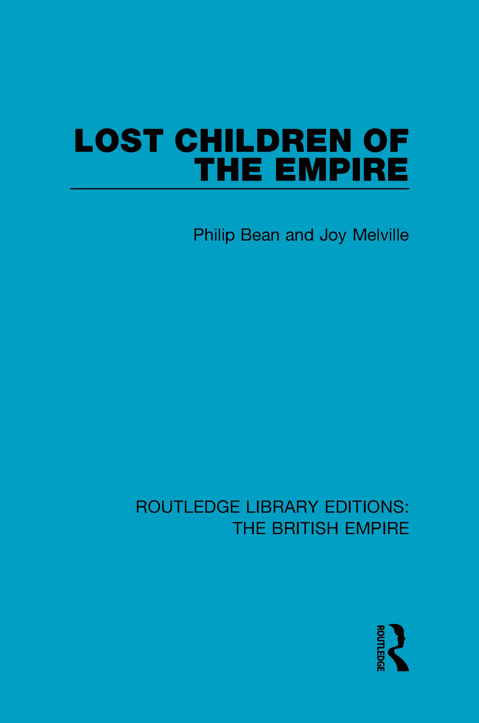 Lost Children of the Empire: 1st Edition (Hardback) book cover