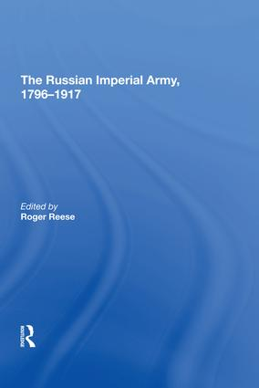 The Revolution of 1905–06 in the Army: The Incidence and Impact of Mutiny
