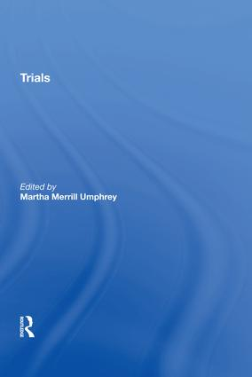 Trials: 1st Edition (Hardback) book cover