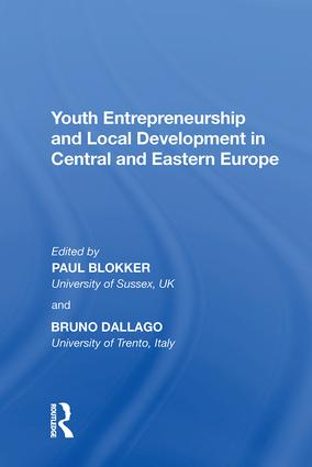 Youth Entrepreneurship and Local Development in Central and Eastern Europe: 1st Edition (Hardback) book cover
