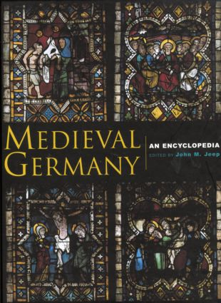 Medieval Germany: An Encyclopedia (Hardback) book cover